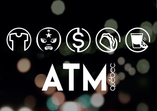 Topper sur mesure pour l'ATM du bar Le Deux22.