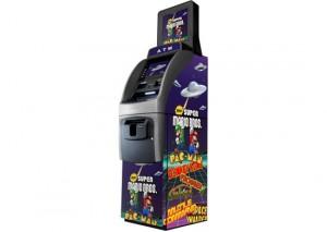 Wrap personnalisé pour l'ATM du bar-arcade Le MacFly